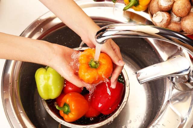 Toxoplasmose na gravidez: lavar vegetais