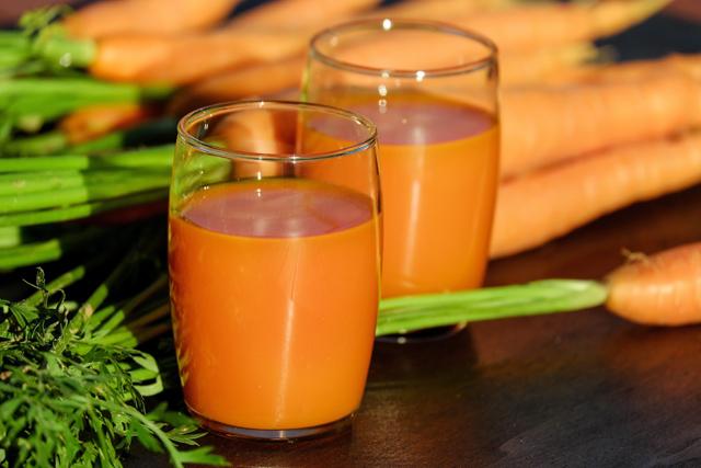 Suco de cenoura na gravidez